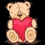 Medvídek srdce