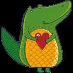 Krokodýl a srdce