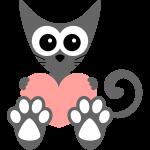 Kočka a srdce